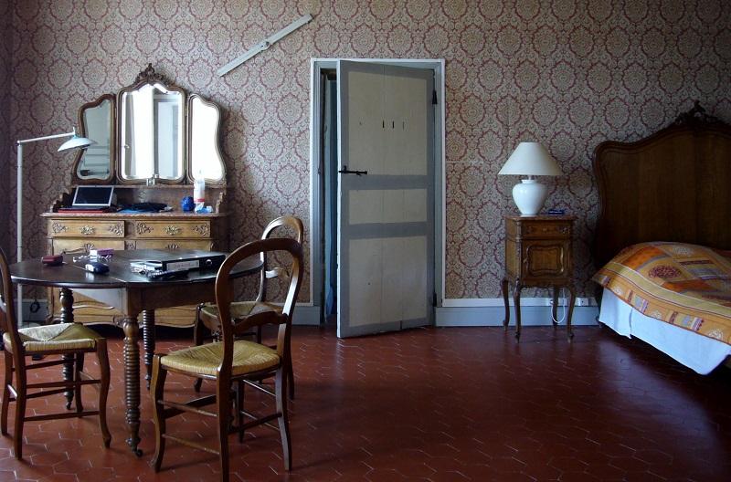 Chambre du château en pension complète